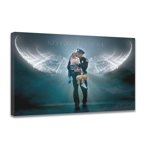 Angelic Rescue - Wrapped Canvas