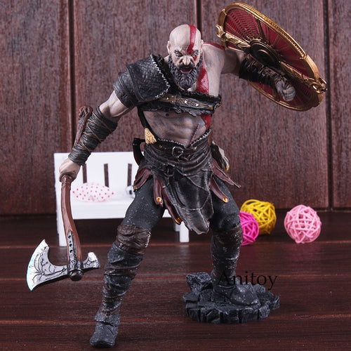 Kratos God of War Action Figures 20cm - Casa dos Nerds