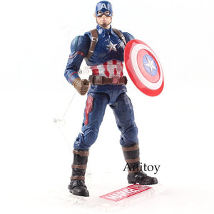 Marvel Action Figures Capitão America 18cm - Casa dos Nerds