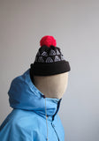 Double-Logo Bobble Hat