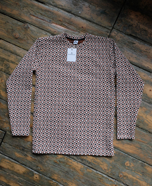 Jacquard Long-Sleeve