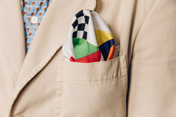La Casquette Pocket Square