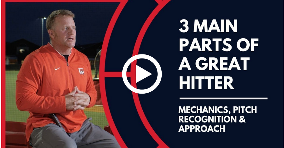 3 MAIN parts of a GREAT hitter.