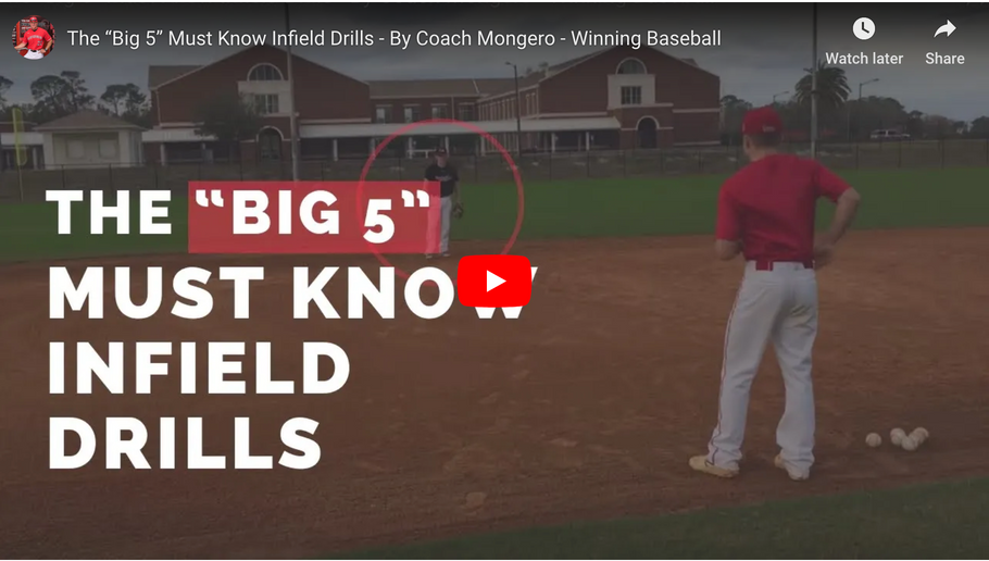 "The ""Big 5"" Must Know Infield Drills"