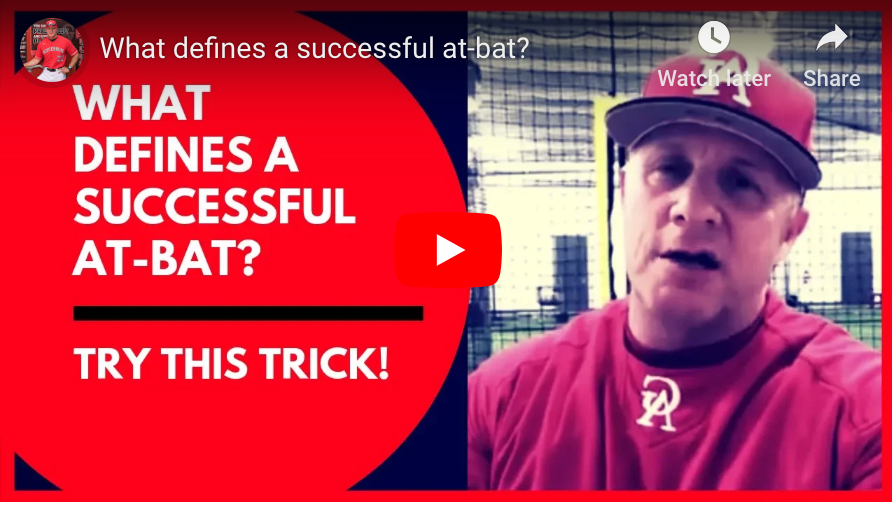 What defines a successful at-bat?