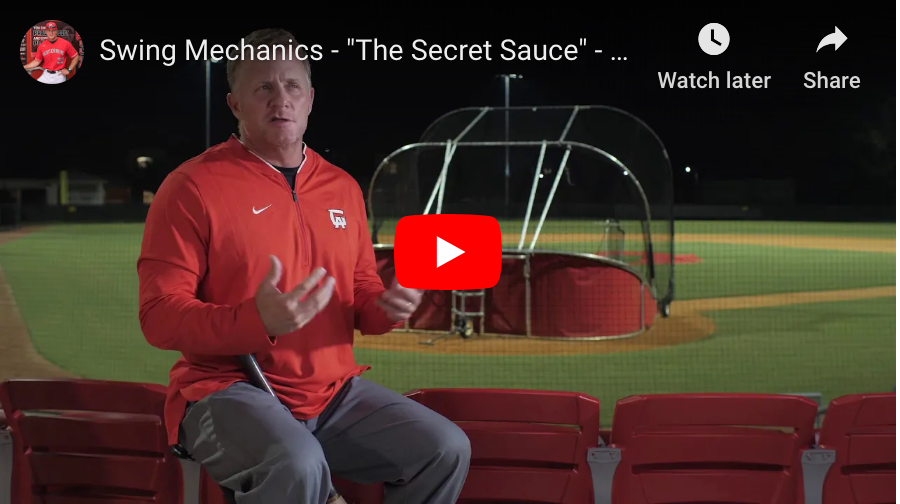 "3 facts about hitting, swing mechanics & the ""Secret Sauce"""
