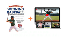 "Load image into Gallery viewer, Winning Baseball - Book 1 ""From Beginner to Intermediate Play"""
