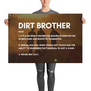 Dirt Brother Definition - Poster