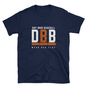 DBB - Dirt Bros Baseball - Short-Sleeve Unisex T-Shirt