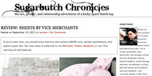 Vice Merchant Sugarbutch Chronicle Review