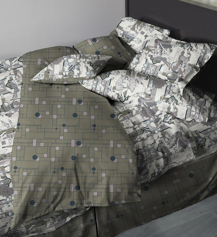 Deco Dems • Grey • Sexy Duvet Covers