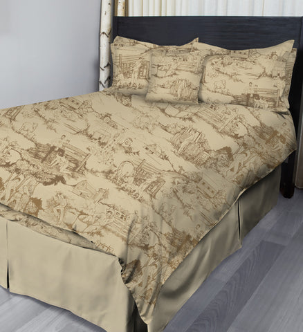 Cowpokes • Wheat • Complete Bedding Sets