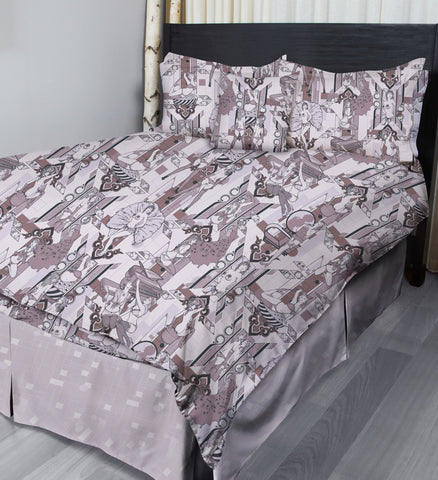 Deco Dems • Lilac • Complete Bedding Sets