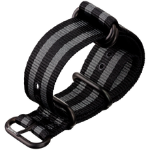 Load image into Gallery viewer, Zulu Strap Classic Bond (black buckle)