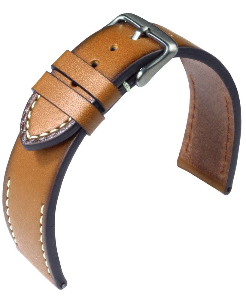 Eulit Woostock leather strap / Mustard