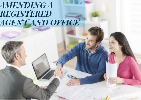 Amending A Registered Agent or Office