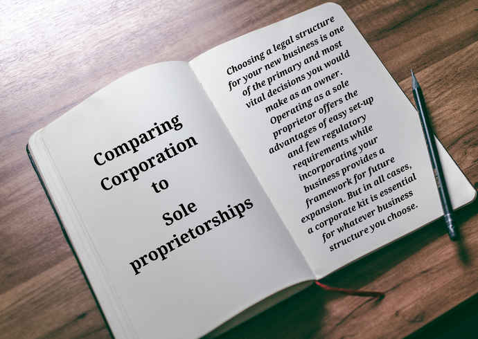 Comparing Corporation to Sole proprietorships