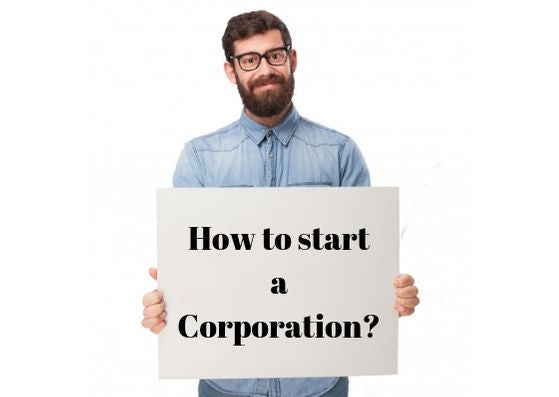 How to start a Corporation
