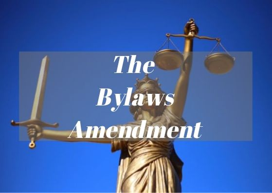 The Bylaws Amendment