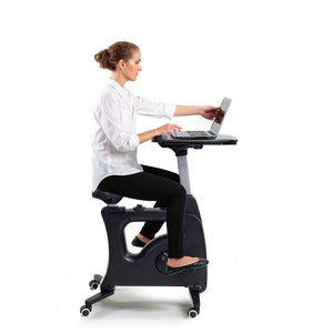 Home Office Height Adjustable Desk Bike