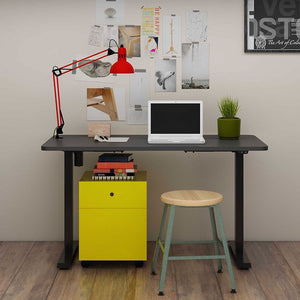 "Electric Height Adjustable Standing Desk EC1-48"" W"