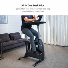 Load image into Gallery viewer, Home Office Height Adjustable Desk Bike