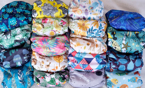 "AI2 Mega Pack: 10 Baby Tree AI2 ""snap out"" Nappies for $225"