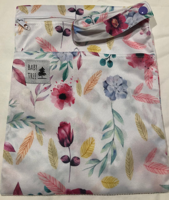 Mini Wet Bag: Flowery