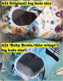 Under the Sea AI2 thin wings: Baby Brain!