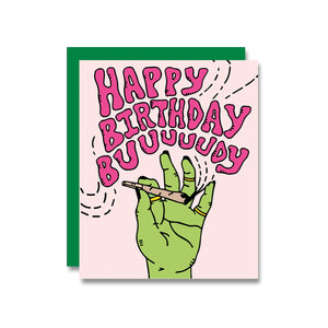 Birthday Buddy Card