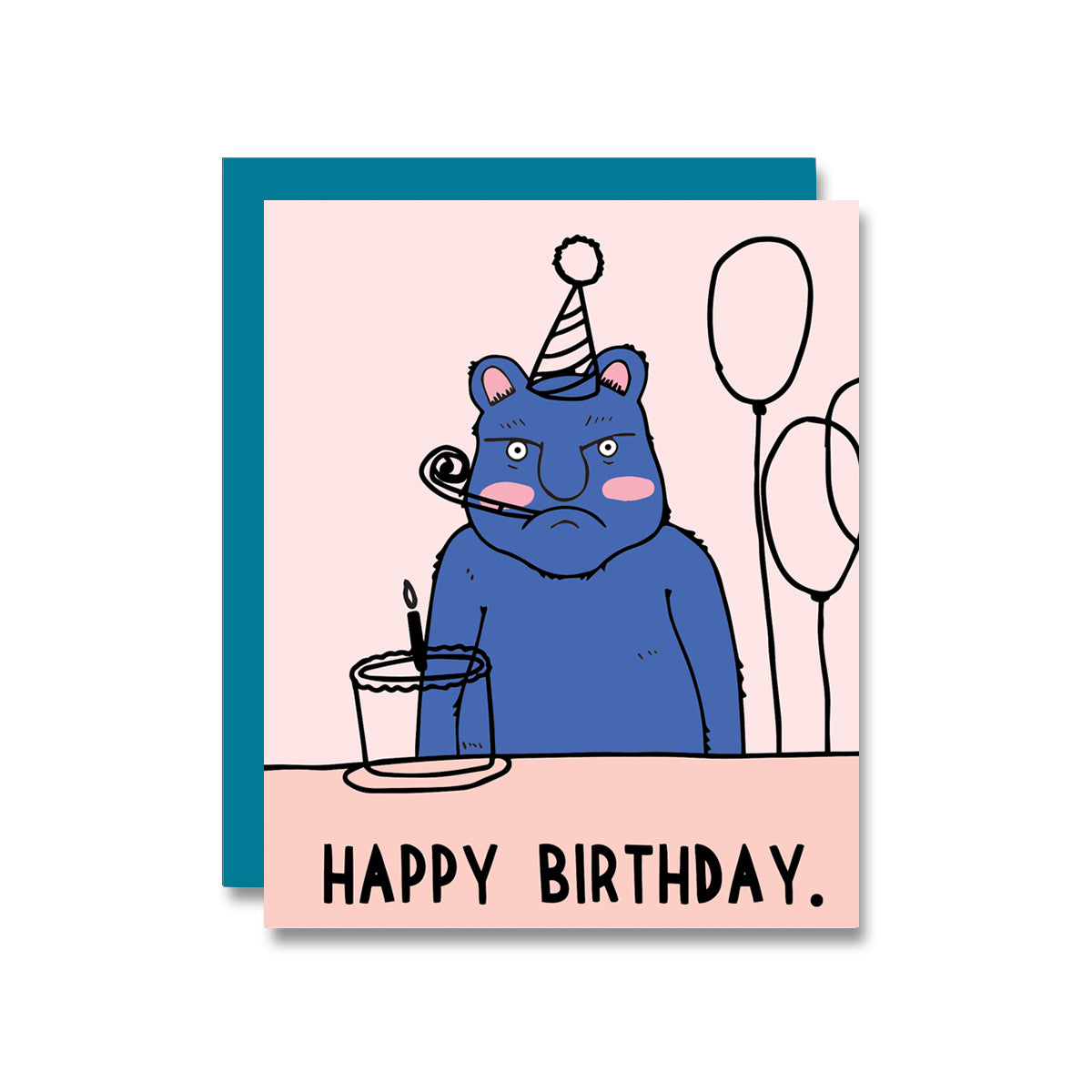 Harold Birthday Card