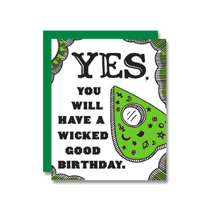 Wicked Good Birthday Card