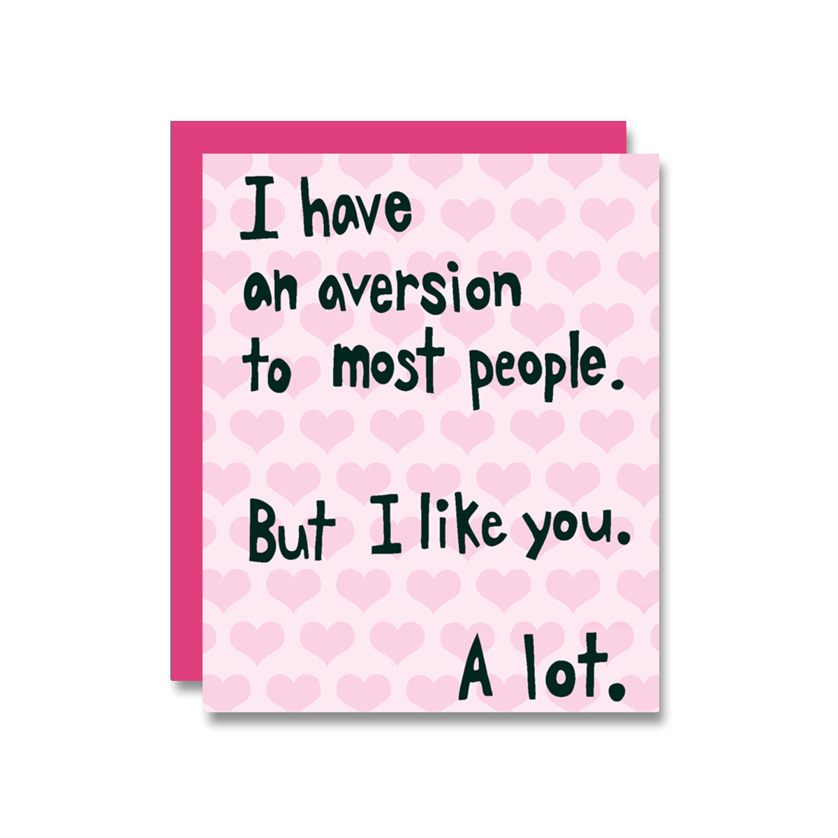 Aversion to Most V-Day