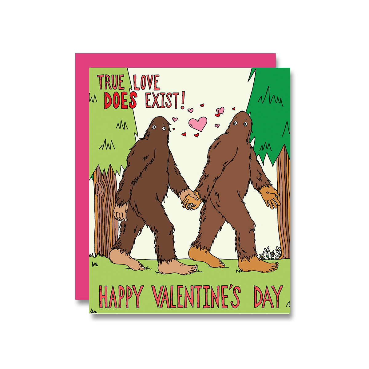 Bigfoot Valentine's