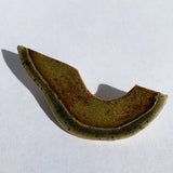 Side of Avocado Ceramic Pin