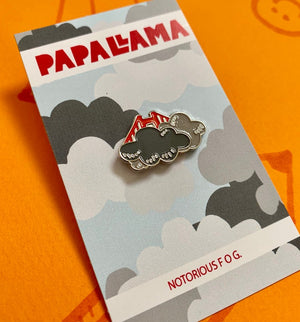 Foggy SF Pin