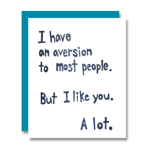 Aversion to Most
