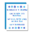 Hanukkah Brooklyn Card