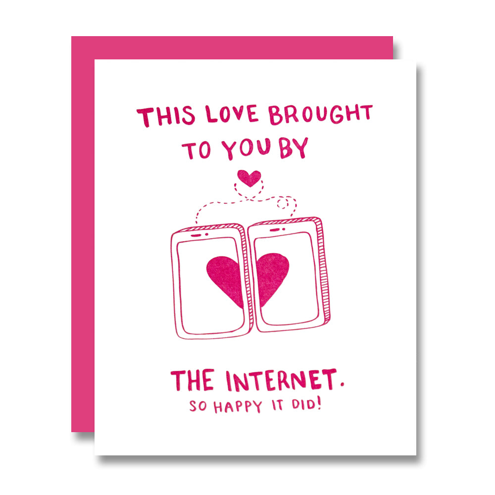 Internet Love, Valentine's Day Card