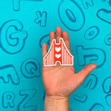 "Golden Gate Bridge 3"" Sticker"