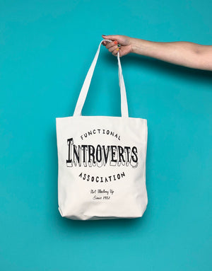 Introverts Tote