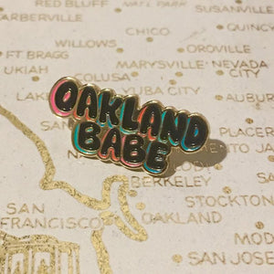 Oakland Babe Pin