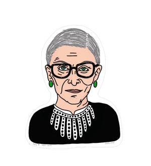 "Ruth Bader Ginsburg, Icon 3""Sticker"