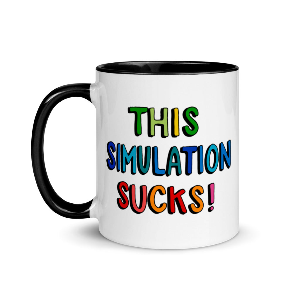 This Simulation Sucks! Ceramic Mug