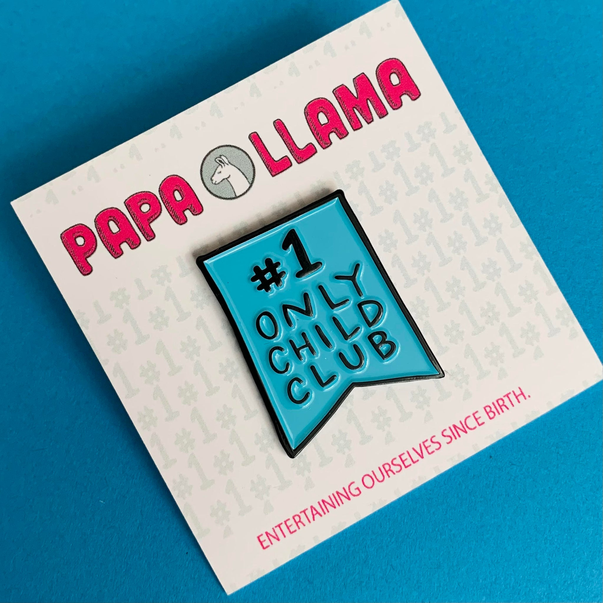 Only Child Club Enamel Pin
