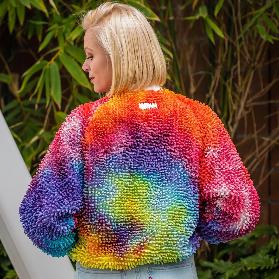 Tie Dye SHAGBOMB Jacket (4-6 weeks for delivery)
