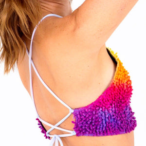 SHAG Halter Top- Sunset Ombré