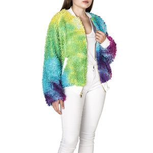 Limited Edition Tie Dye SHAGBOMB Jacket