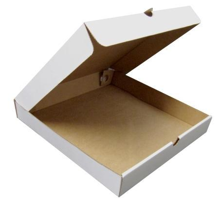 "12"" Pizza Boxes - Plain White"