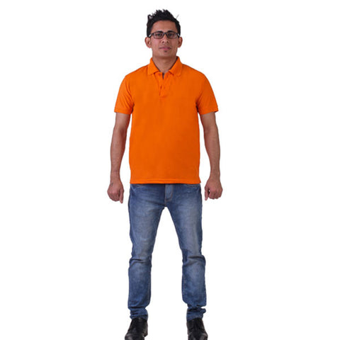 Orange Collared T- Shirt, FNBFleet